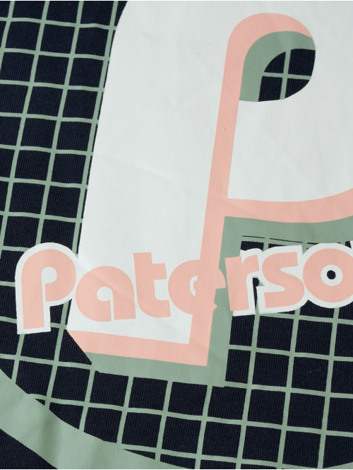 Paterson Longsleeve Paterson Logo blau