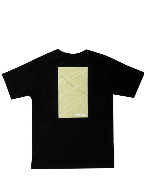Paterson T-Shirt Court Crop schwarz