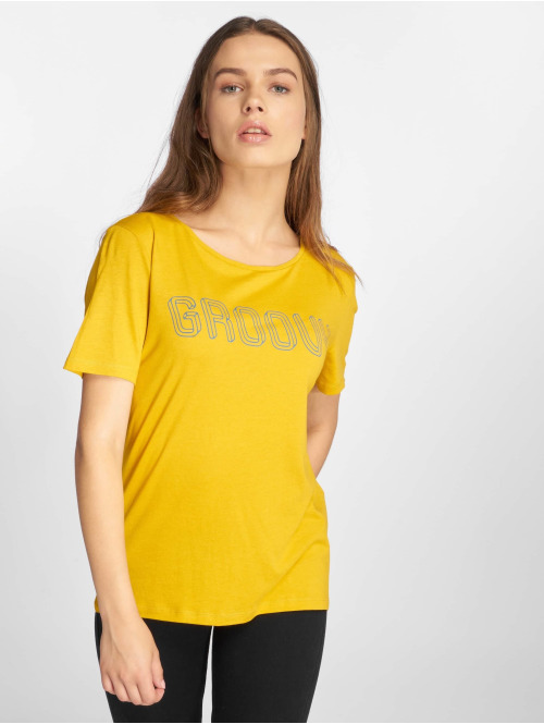 Pieces T-Shirt pcFemme gelb