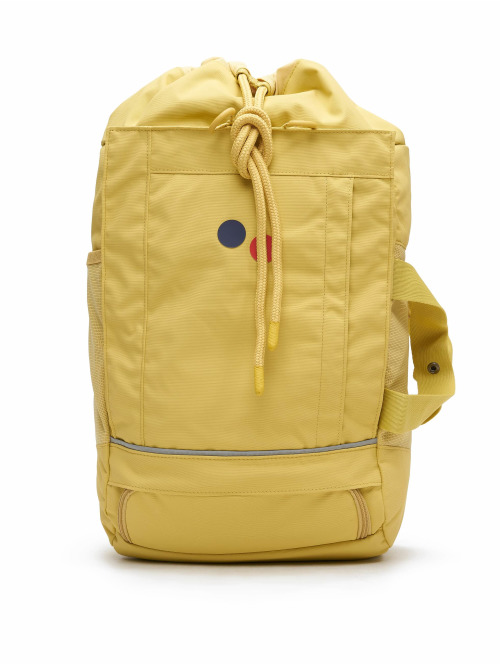 pinqponq Rucksack Blok Medium gelb