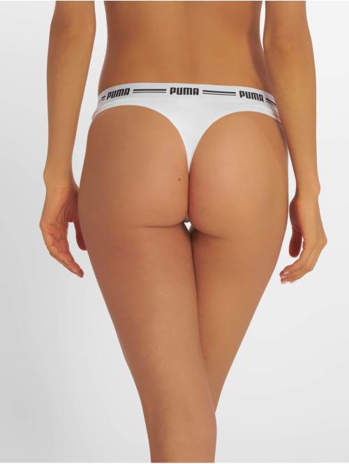 Puma Dobotex Unterwäsche Iconic String 2P Packed weiß