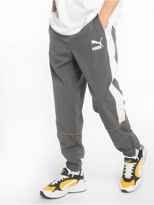 Puma Jogginghose Retro Woven grau