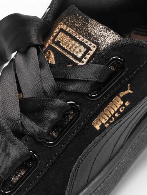 Puma Sneaker Suede Heart schwarz