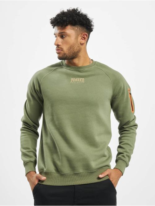 Pusher Apparel Pullover Athletics khaki