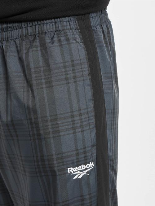Reebok Jogginghose Vector Plaid schwarz