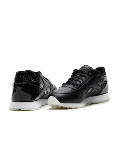 Reebok Sneaker Classic Leather schwarz