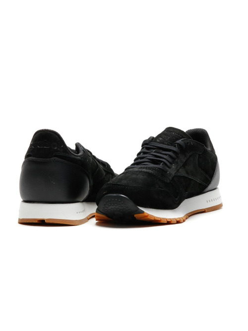 Reebok Sneaker CL Leather schwarz