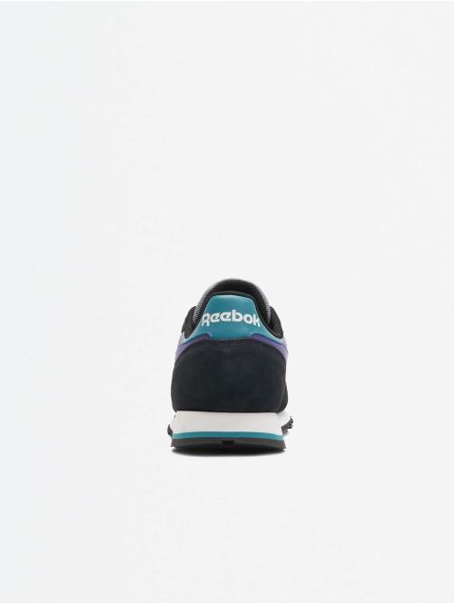 Reebok Sneaker Leather Mu schwarz