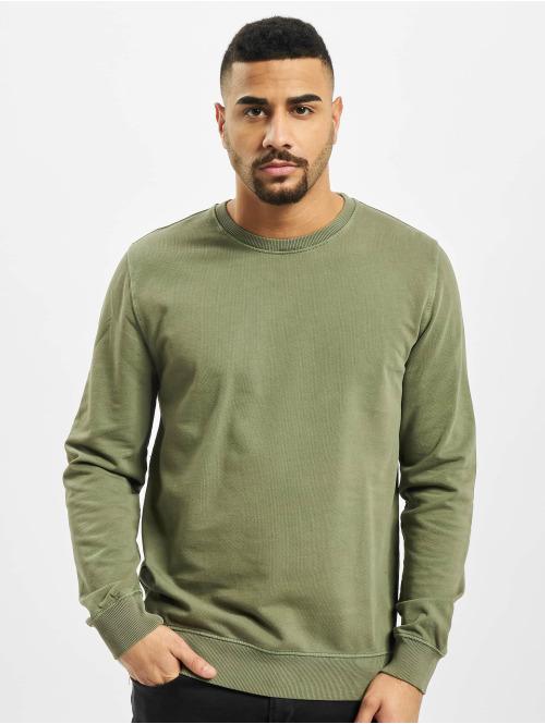 Revolution Pullover Garment Dyed olive