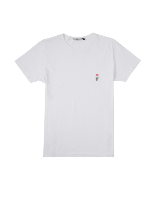 Revolution T-Shirt Ice Army weiß