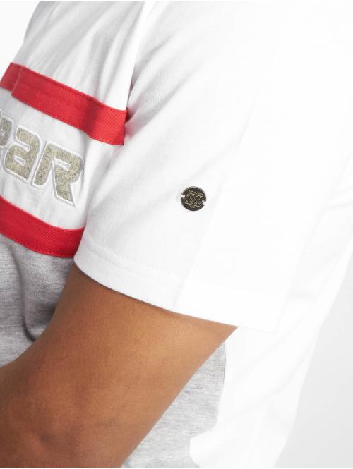 Rocawear T-Shirt redstripe grau