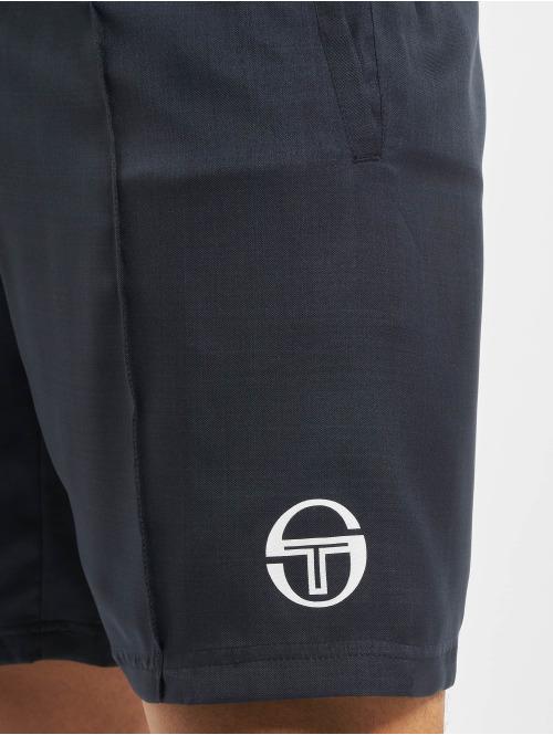 Sergio Tacchini Shorts Retro blau