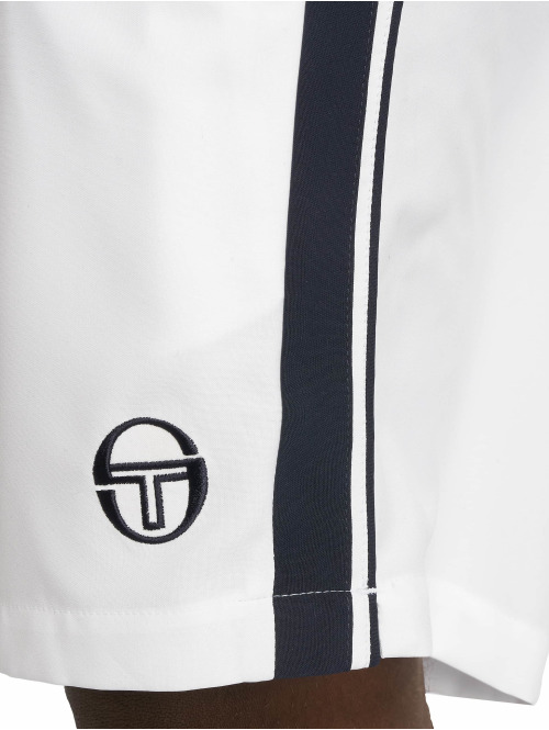 Sergio Tacchini Shorts Young Line Pro weiß