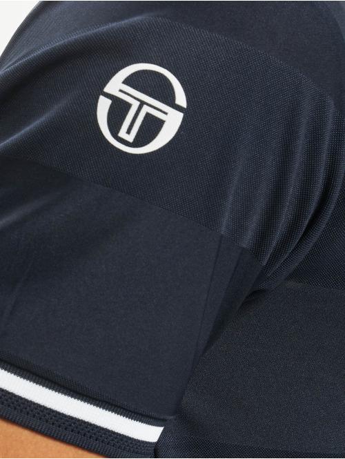 Sergio Tacchini T-Shirt Retro blau