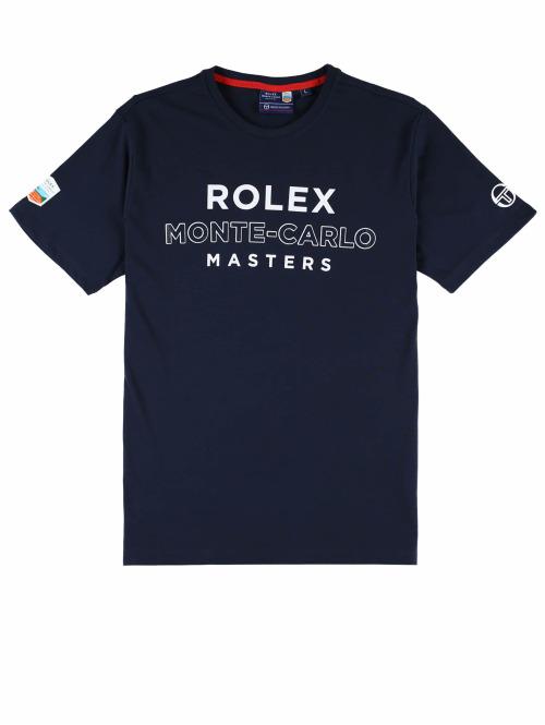 Sergio Tacchini T-Shirt Cable blau