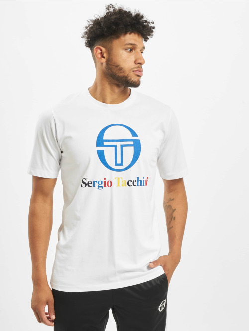 Sergio Tacchini T-Shirt Chiko weiß