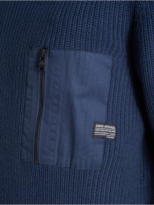 SHINE Original Pullover Knit blau