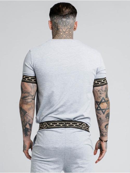 Sik Silk T-Shirt Cartel Lounge grau