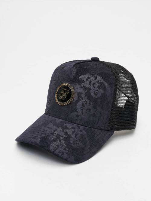 Sik Silk Trucker Caps Mesh Back blå