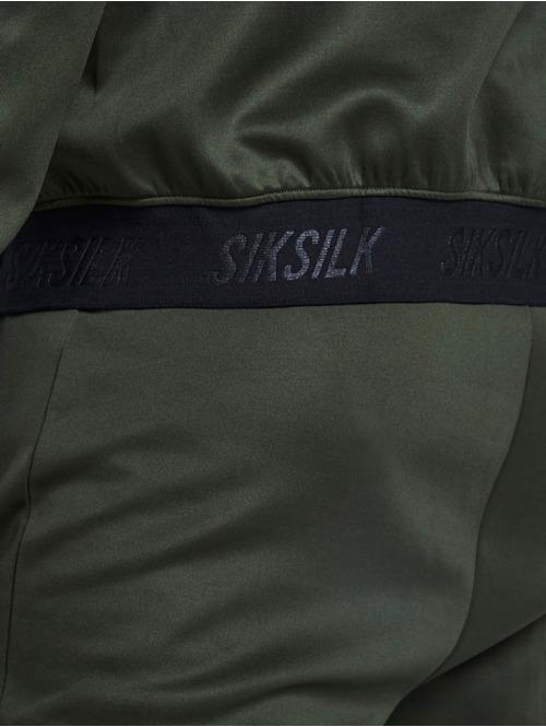 Sik Silk Zip Hoodie Agility khaki