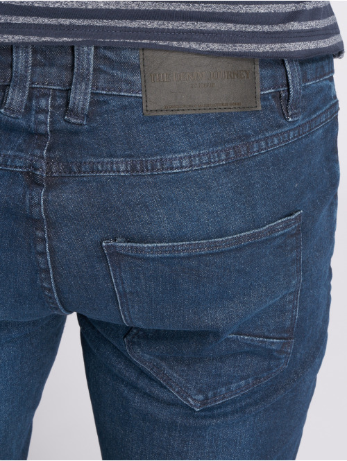 Solid Slim Fit Jeans Joy Blue103 blau