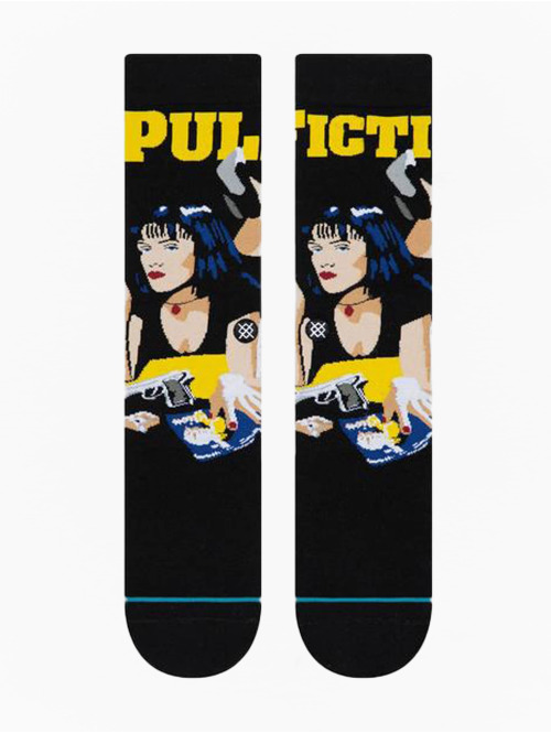 Stance Socken Pulp Fiction schwarz