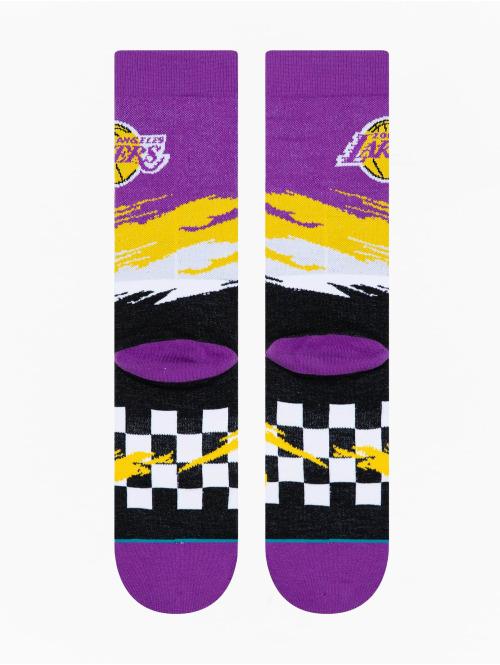 Stance Socken Lakers Wave Racer violet