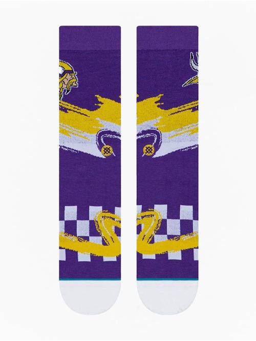 Stance Socken Vikings Wave Racer violet