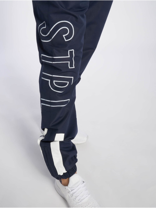 Staple Pigeon Jogginghose Sport Nylon blau