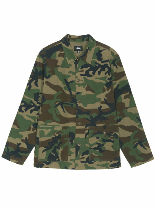 Stüssy Hemd Military camouflage
