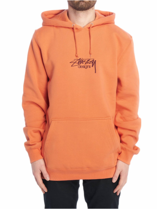 Stüssy Hoody Design App orange