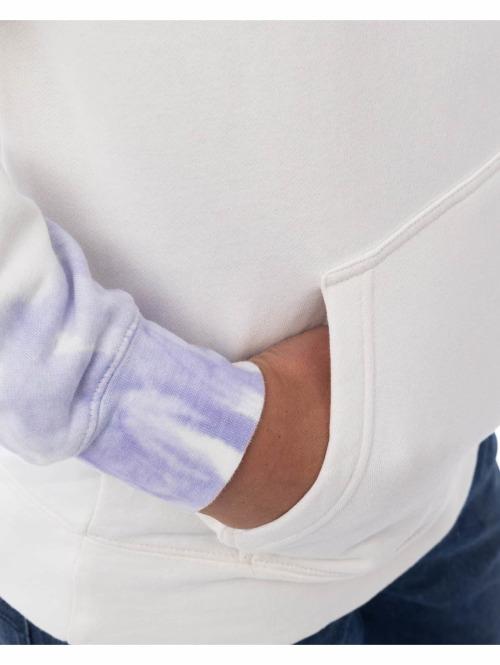 Stüssy Hoody Basic Tie Dye Hood weiß