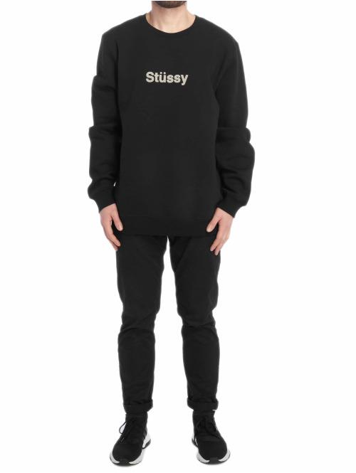 Stüssy Pullover Weld App schwarz