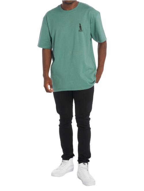 Stüssy T-Shirt Raggamon grün