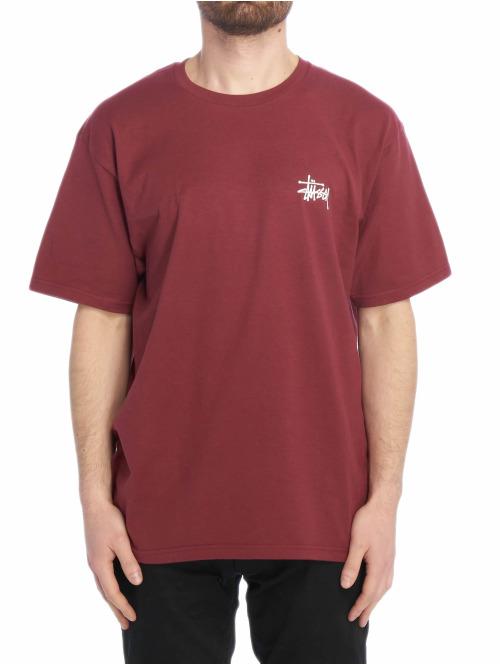 Stüssy T-Shirt Basic rot
