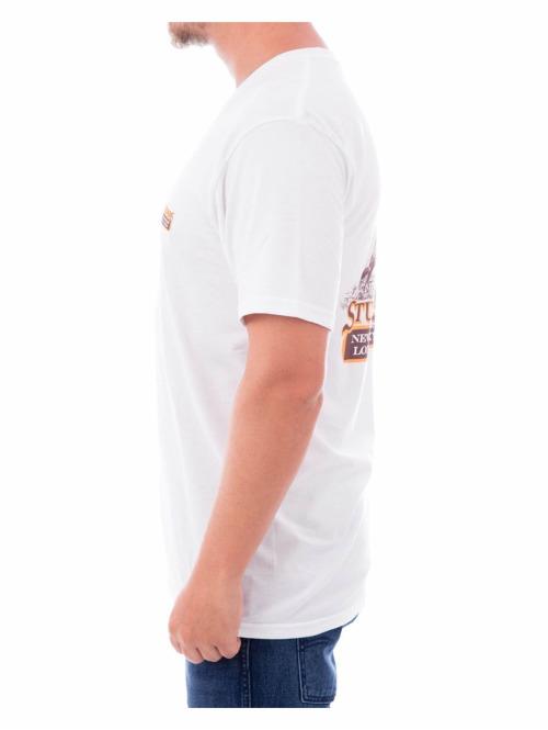 Stüssy T-Shirt King weiß