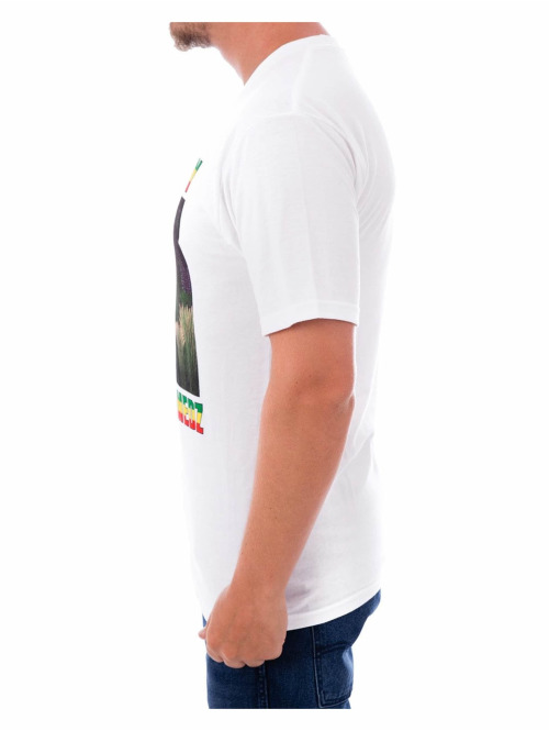 Stüssy T-Shirt Hold the Medz weiß