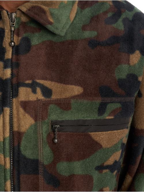 Stüssy Übergangsjacke Polar Fleece Full Zip camouflage