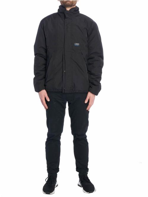 Stüssy Winterjacke Rev Micro Fleece schwarz