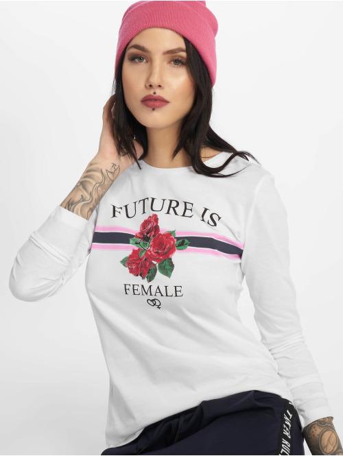 Sublevel Langærmede female future hvid