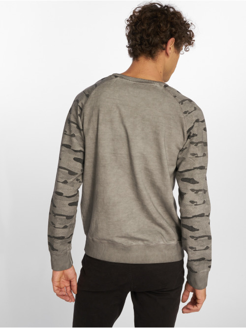 Sublevel Pullover Pebble Stone grau