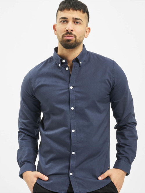 Suit Hemd Oxford blau