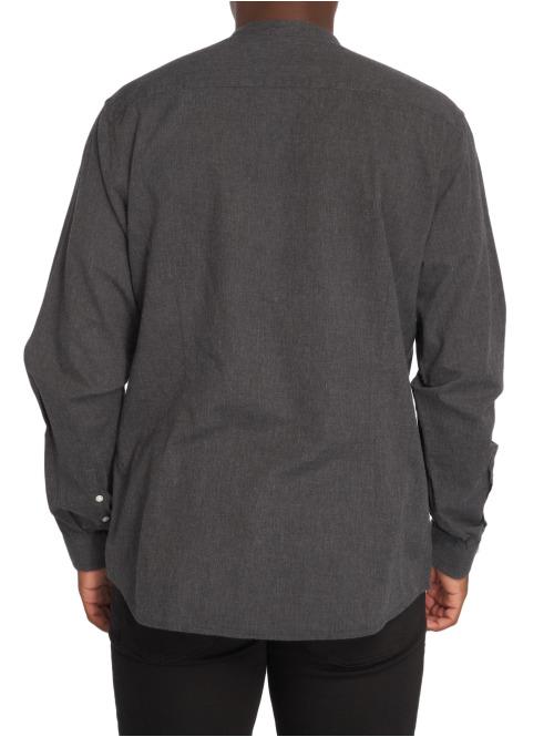 Suit Hemd D. Mandarin schwarz
