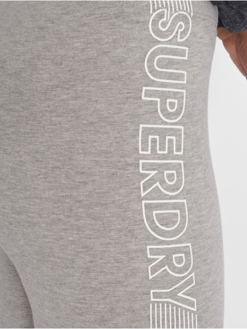Superdry Legging Urban Logo grau