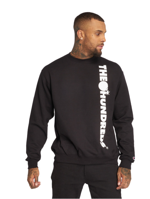 The Hundreds Pullover Bar None schwarz