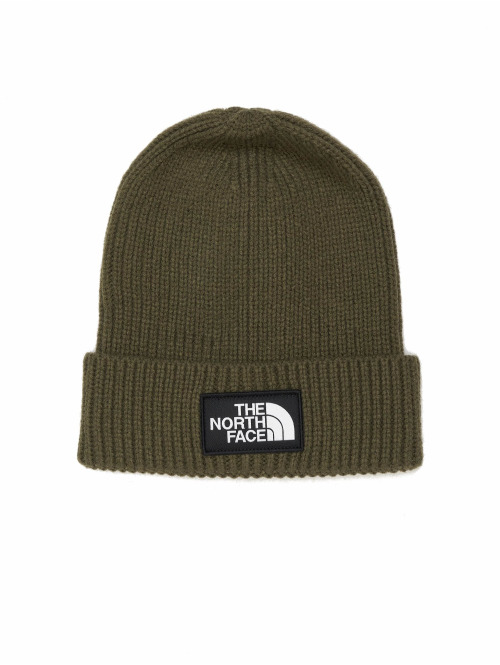 The North Face Beanie Logo grün