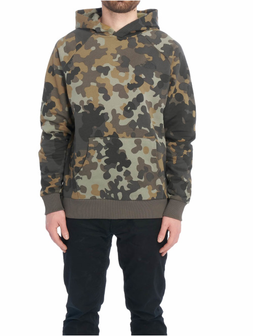 The North Face Hoody Red Box camouflage