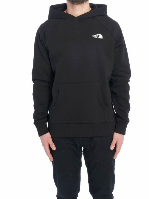 The North Face Hoody Red Box schwarz
