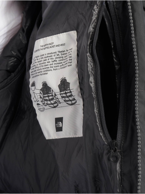 The North Face Puffer Jacket Nuptse grau