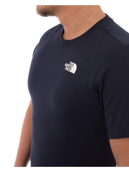 The North Face T-Shirt Red Box blau